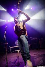 Juan Holmes, guitarrista y cantante de Discípulos de Dionisos, Kafe Antzokia, 2014