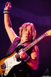 Dave Murray, guitarrista de Iron Maiden, Bilbao Exhibition Centre (BEC), 2014