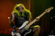 Steve Harris, bajista de Iron Maiden, Bilbao Exhibition Centre (BEC), 2014