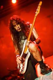 Steve Harris, bajista de Iron Maiden, Bilbao Exhibition Centre (BEC), 2014