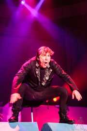 Bruce Dickinson, cantante de Iron Maiden, Bilbao Exhibition Centre (BEC), 2014