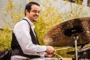Iker Uriarte, baterista de Déu n'hi do, Gastroswing - Artium, 2014