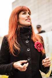 Sonia Vera, cantante de Déu n'hi do, Gastroswing - Artium, 2014