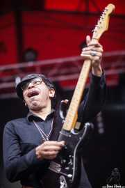 Kid Congo Powers, cantante y guitarrista de Kid Congo and The Pink Monkey Birds, Andoaingo Rock Jaialdia, 2014