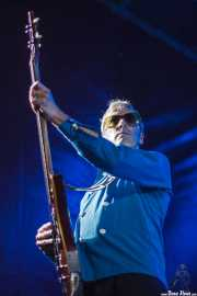 "Patrick O'Connor ""Buzz Hagstrom"", bajista de The Woggles (Andoaingo Rock Jaialdia, Andoain, 2014)"