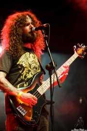 Jon Harvey, bajista y cantante de Monster Truck, Azkena Rock Festival, 2014