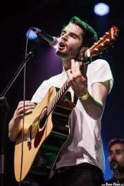 Harry Hudson-Taylor, cantante y guitarrista de Hudson Taylor, Azkena Rock Festival, 2014