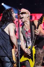 Paweł Mąciwoda y Rudolf Schenker, de Scorpions, Azkena Rock Festival, 2014