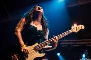 Lianna Lee Davies, bajista de Turbowolf, Azkena Rock Festival, 2014