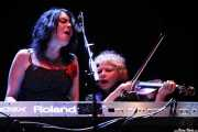 Christine Smith y Gus Tristsch, de Marah, Azkena Rock Festival, 2014