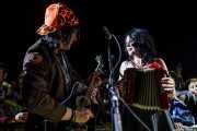 Dave Bielanko y Christine Smith, de Marah, Azkena Rock Festival, 2014