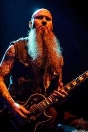 Arthur Seay, guitarrista de Unida, Azkena Rock Festival, 2014