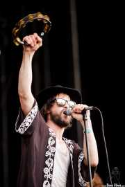 Phil Campbell, cantante de The Temperance Movement, Azkena Rock Festival, 2014