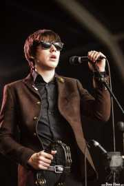 Ross Farrelly, cantante y armonicista de The Strypes, Azkena Rock Festival, 2014