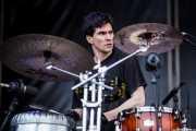 Brian Viglione, baterista de Violent Femmes, Azkena Rock Festival, 2014