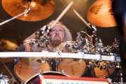 Tal Bergman, baterista de Joe Bonamassa band, Azkena Rock Festival, 2014