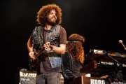 Andrew Stockdale -guitarrista- y Ian Peres -teclista-, de Wolfmother, Azkena Rock Festival, 2014