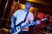 Borja González, bajista de Those Radios, Mojo Club, 2014