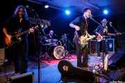 Seth von Paulus - guitarrista-, Christos Hansen -baterista-, Timbo -guitarrista y cantante- y de Speedbuggy USA -bajista- de Speedbuggy USA, Centro Niemeyer, 2014