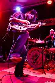 Timbo -guitarrista- y Christos Hansen -baterista-, de Speedbuggy USA, Centro Niemeyer, 2014