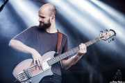 Charles Cave , najista de White Lies, Bilbao BBK Live, 2014