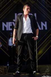 John Newman, cantante, Bilbao BBK Live, 2014