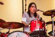 "David ""El Índio"", baterista de Vetusta Morla, Bilbao BBK Live, 2014"