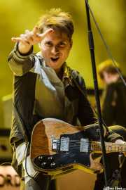 Alex Kapranos, cantante y guitarrista de Franz Ferdinand, Bilbao BBK Live, 2014