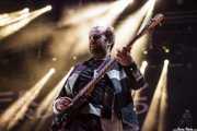 Bob Hardy, bajista de Franz Ferdinand, Bilbao BBK Live, 2014