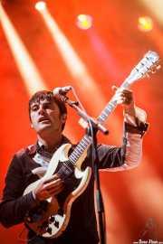 Nick McCarthy, guitarrista de Franz Ferdinand, Bilbao BBK Live, 2014