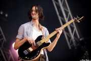 Wylie Gelber, bajista de Dawes, Bilbao BBK Live, 2014