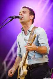 Taylor Goldsmith , guitarrista y cantante de Dawes, Bilbao BBK Live, 2014
