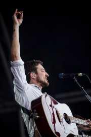 Frank Turner, cantante y guitarrista de Frank Turner & The Sleeping Souls, Bilbao BBK Live, 2014