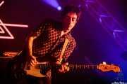 Daniel Ulecia, bajista de El Columpio Asesino, Bilbao BBK Live, 2014