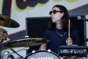 "Noah Rubin ""NoNo B"", baterista de Skaters, Bilbao BBK Live, 2014"