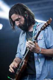 Tyler Ramsey, guitarrista de Band of Horses, Bilbao BBK Live, 2014