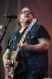 Ryan Monroe, teclista y guitarrista de Band of Horses, Bilbao BBK Live, 2014