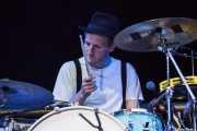 Jeremiah Fraites, baterista de The Lumineers, Bilbao BBK Live, 2014