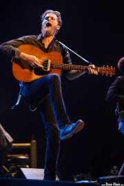 Wesley Schultz, cantante y guitarrista de The Lumineers, Bilbao BBK Live, 2014