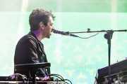 Ben Goldwasser, teclista y cantante de MGMT, Bilbao BBK Live, 2014
