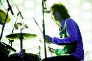Will Berman, baterista de MGMT, Bilbao BBK Live, 2014