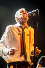 TV Smith, cantante de TV Smith and The Bored Teenagers y The Adverts, Kafe Antzokia, 2014