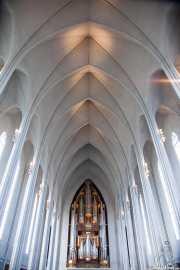 Órgano de la Hallgrimskirche, Hallgrimskirche, Reikiavik, Islandia, 2014