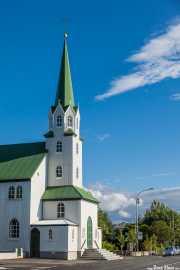 Iglesia Fríkirkjan í Reykjavík (Rögnvaldur Ólafsson, 1903), Reikiavik, Islandia, 2014