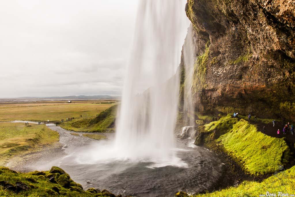 Cascada Seljalandsfoss, Islandia, 2014
