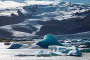 Lago glaciar Fjallsárlón, Islandia, 2014