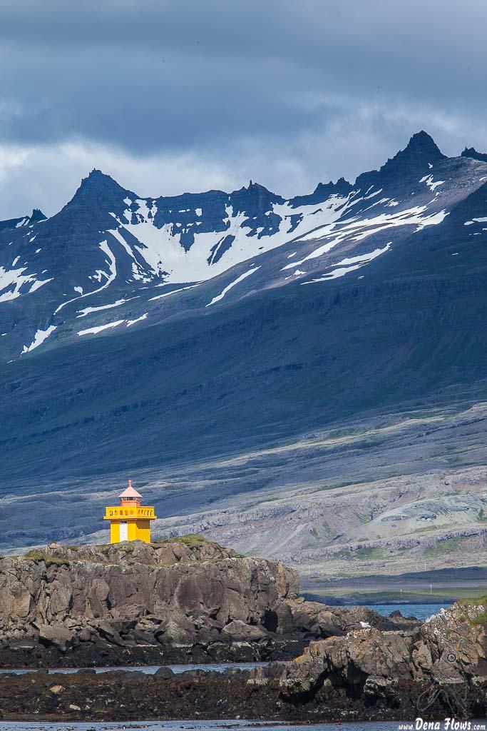 Faro de Djúpivogur, Islandia, 2014