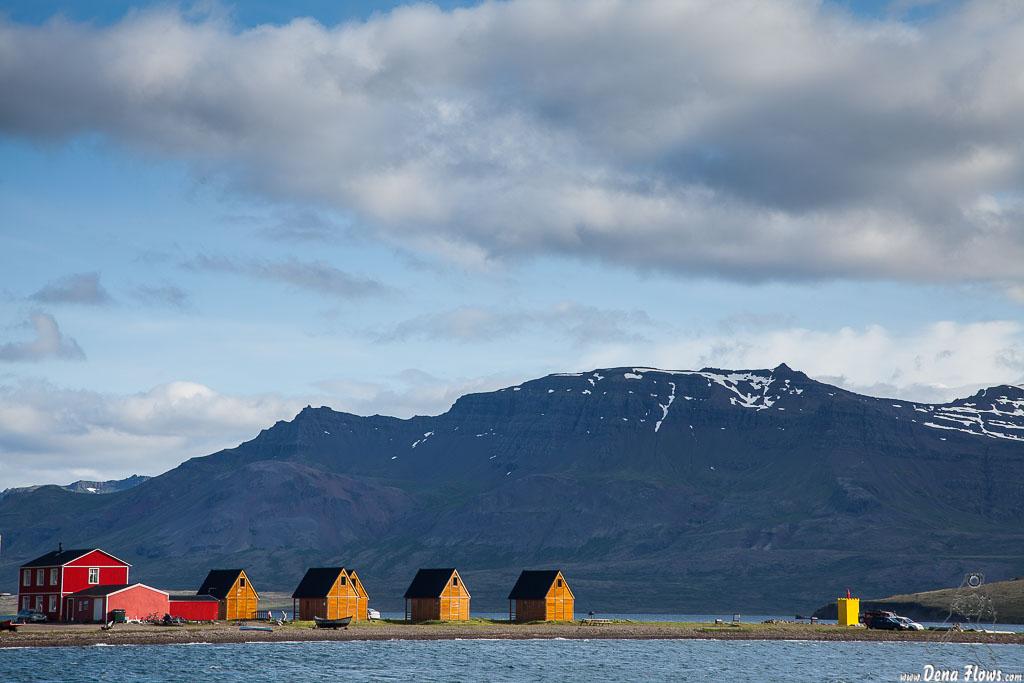 Casas de huéspedes en Eskifjörður, Islandia, 2014