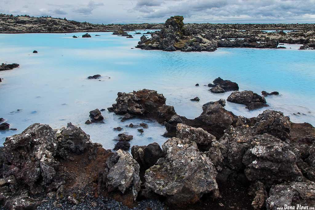 Bláa lónið - Blue Lagoon (Lago azul), Grindavík, Islandia, 2014