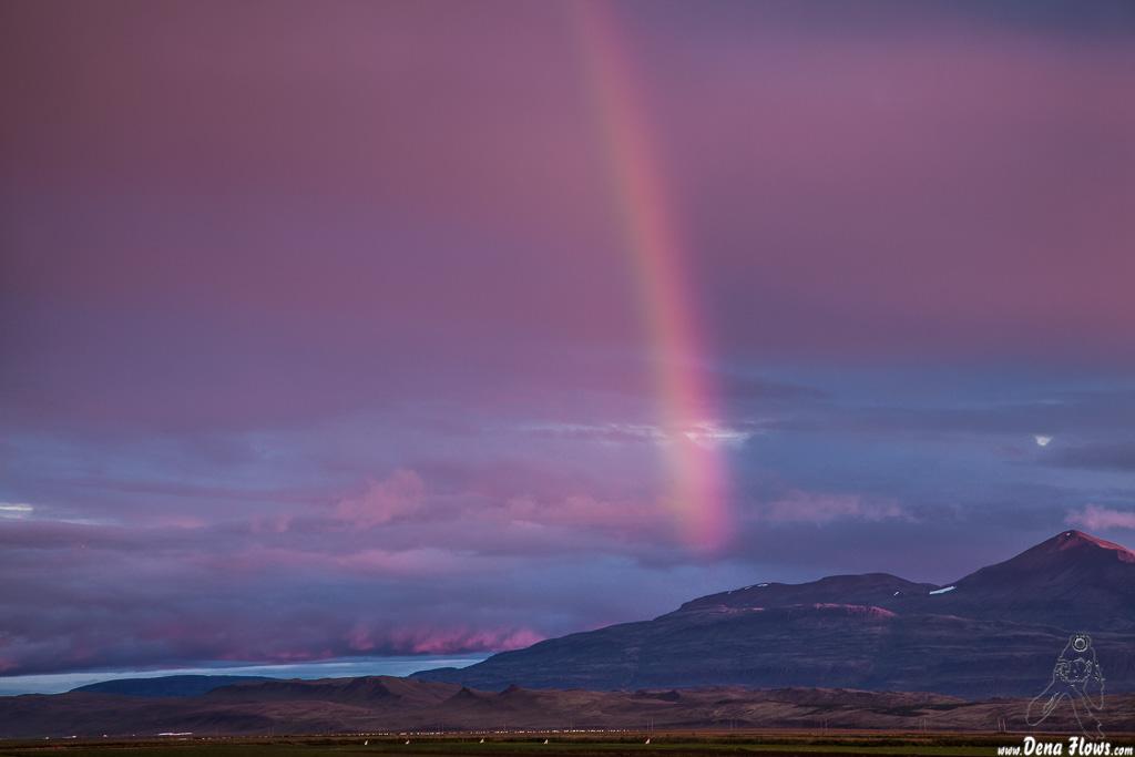 Arco iris, Islandia, 2014